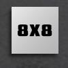 "8"" x 8"""