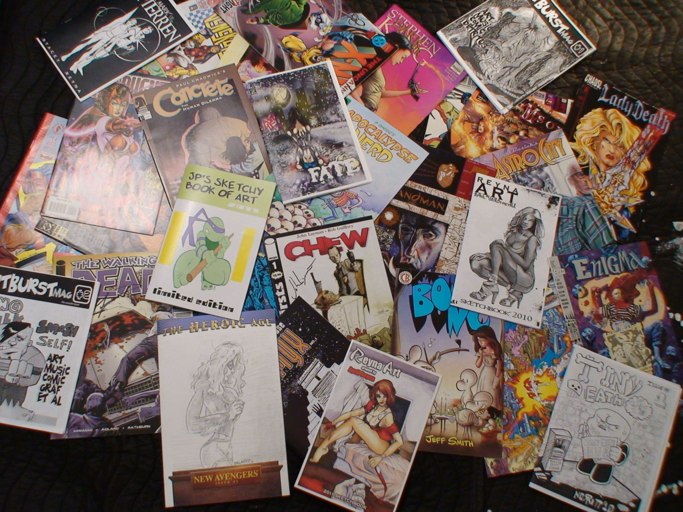 comics and other prints